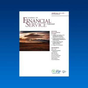 Journal January 2018 financial planning strategies