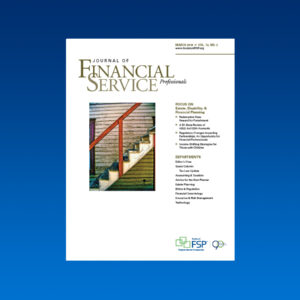 Journal March 2018 estate disability financial planning