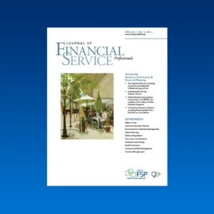 Journal May 2018 pension retirement financial