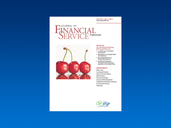Journal july 2019 tax investment financial