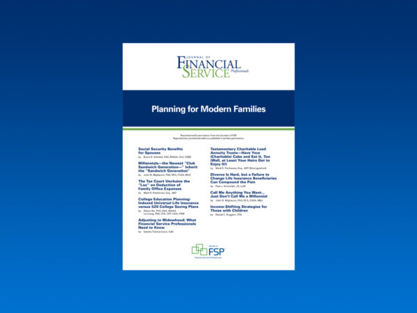 planning for modern families